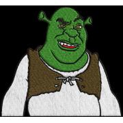 Matriz de Bordado Shrek