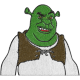 Matriz de Bordado Shrek