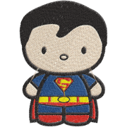 Matriz de Bordado Superman Baby