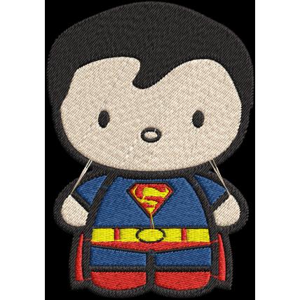 Matriz de Bordado Superman Baby