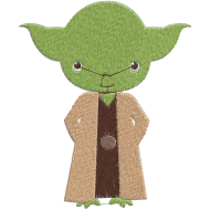 Matriz de Bordado Yoda Star Wars