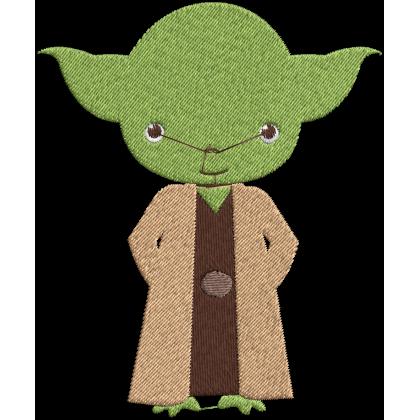 Matriz de Bordado Yoda Star Wars