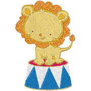 Matriz de Bordado Leão Circo
