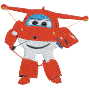 Matriz de Bordado Super Wings Jeff