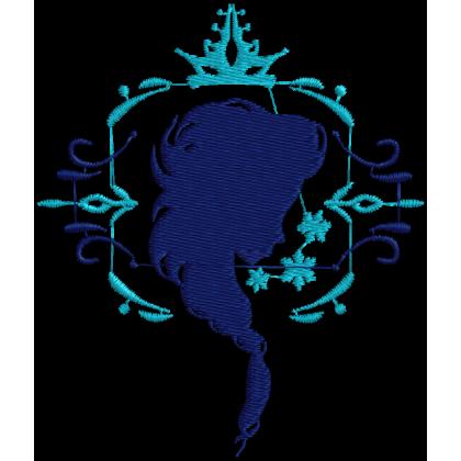 Matriz de Bordado Frozen Elsa Design