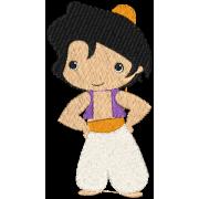 Matriz de Bordado Aladdin
