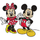 Matriz de Bordado Mickey e Minnie 2