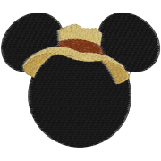 Matriz de Bordado Mickey 3