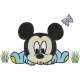 Matriz de Bordado Mickey Baby 2