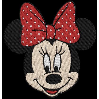 Matriz de Bordado Minnie 4