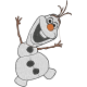 Matriz de Bordado Olaf Frozen Disney