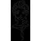 Matriz de Bordado Shape Elsa