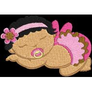 Matriz de Bordado Bebê 02