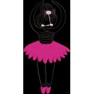 Matriz de Bordado Bailarina