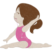 Matriz de Bordado Bailarina 2