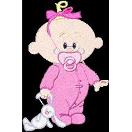 Matriz de Bordado Bebê 3