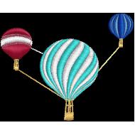 Matriz de Bordado Balões