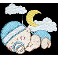 Matriz de Bordado Bebê