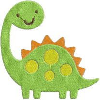 Matriz de Bordado Dinossauro