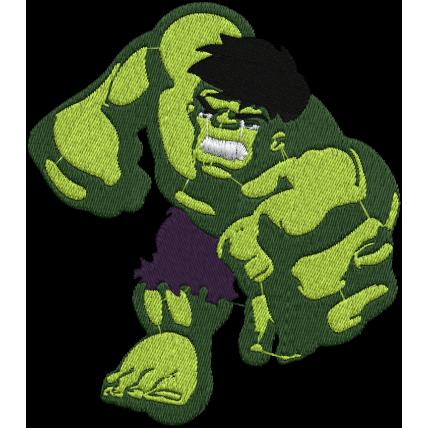 Matriz de Bordado Hulk
