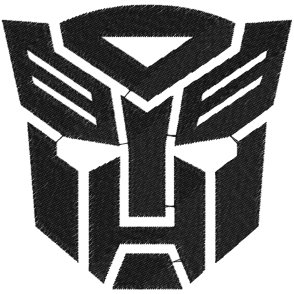 Matriz de Bordado Tranformers