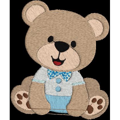 Matriz de Bordado Urso 3