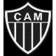 Matriz de Bordado Escudo Clube Atlético Mineiro