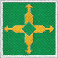 Matriz de Bordado Bandeira do Distrito Federal
