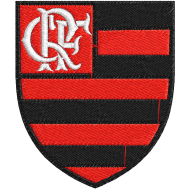 Matriz de Bordado Escudo Clube de Regatas do Flamengo