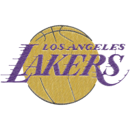 Matriz de Bordado Time Los Angeles Lakers