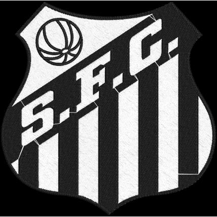 Matriz de Bordado Escudo Santos Futebol Clube
