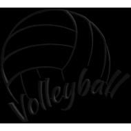 Matriz de Bordado Volleyball
