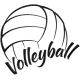 Matriz de Bordado Volleyball