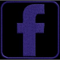 Matriz de Bordado Facebook Icone..