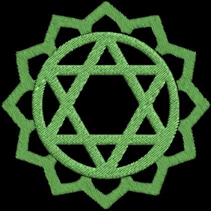 Matriz de Bordado Anahata Heart Chakra