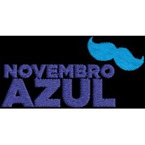 Matriz de Bordado Novembro Azul [Download Grátis]