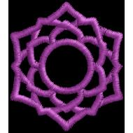 Matriz de Bordado Sahasrara Crown Chakra
