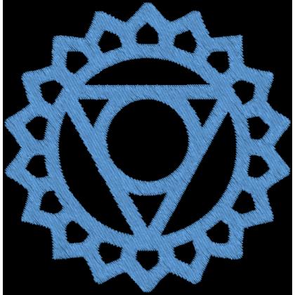 Matriz de Bordado Vishuddha Throat Chakra