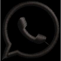 Matriz de Bordado WhatsApp Icone..